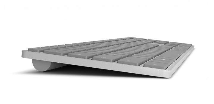Microsoft Modern Keyboard finger print reader