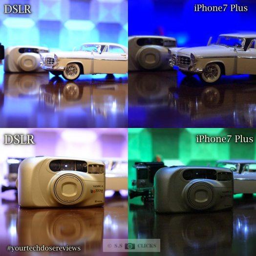 Camera Comparison of iPhone7 Plus and Dslr