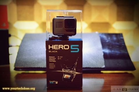 GoPro Hero5 Black unboxing