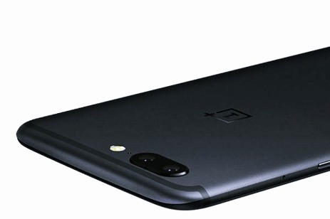 OnePlus 5 Top View with dual lens