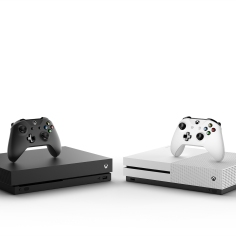 Comparsion of Xbox One X and Xbox one S