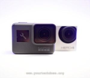 GoPro Hero4 & Hero5 Lens Comparison in high res