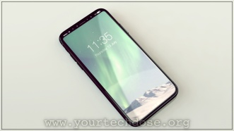 iPhone 8 Full Screen with ios11