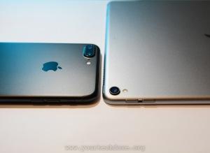 iPad Pro 10.5 and iPhone 7 Plus camera lens bump