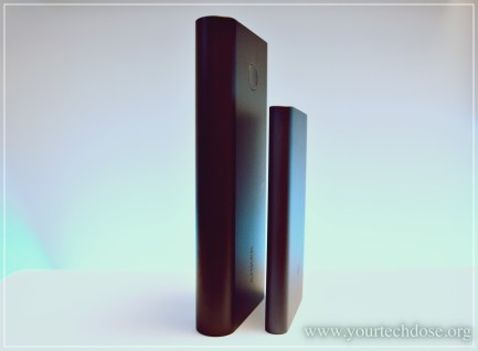 comparison Anker Powercore and Xiaomi Mi Powerbank