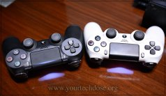 Ps4 and PS4 Pro Controllers Comparison