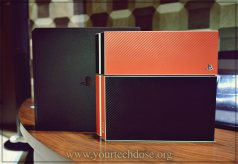 PS4 and PS4 Pro Front