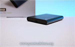 Samsung T5 USB-C port